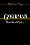 Statistical Optics (0471399167) cover image