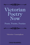 Victorian Poetry Now: Poets, Poems and Poetics (0631208267) cover image