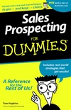 Sales Prospecting For Dummies (0764550667) cover image