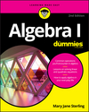 Algebra I For Dummies, 2nd Edition (1119297567) cover image