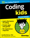 Coding For Kids For Dummies, 2nd Edition (1119555167) cover image