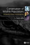 Conservation of Wildlife Populations: Demography, Genetics and Management (1405121467) cover image