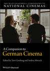 A Companion to German Cinema (1405194367) cover image