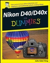 Nikon D40/D40x For Dummies (0470239468) cover image