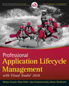 Professional Application Lifecycle Management with Visual Studio 2010 (0470484268) cover image