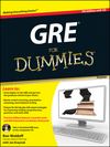 GRE For Dummies, Premier 7th Edition, with CD (0470889268) cover image