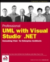 Professional UML Using Visual Studio .Net (0764543768) cover image