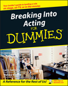 Breaking Into Acting For Dummies  (0764554468) cover image