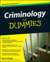 Criminology For Dummies (1118052668) cover image