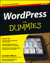 WordPress For Dummies, 5th Edition (1118383168) cover image