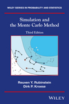 Simulation and the Monte Carlo Method, Third Edition (1118632168) cover image