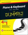 Piano and Keyboard All-in-One For Dummies (1118837568) cover image