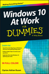 Windows 10 At Work For Dummies (1119084768) cover image