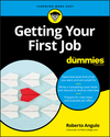 Getting Your First Job For Dummies (1119431468) cover image