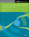 Management Information Systems, 4th Edition (1119537568) cover image