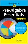 Pre-Algebra Essentials For Dummies (1119590868) cover image