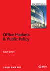 Office Markets and Public Policy (1405199768) cover image