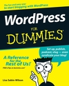 WordPress For Dummies (0470149469) cover image