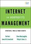 Internet Management for Nonprofits: Strategies, Tools and Trade Secrets (0470539569) cover image