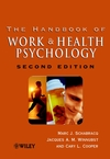 The Handbook of Work and Health Psychology, 2nd Edition (0471892769) cover image