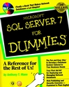 MicrosoftSQL Server 7 For Dummies  (0764504169) cover image