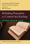 Rethinking Preparation for Content Area Teaching: The Reading Apprenticeship Approach (0787971669) cover image