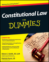 Constitutional Law For Dummies (1118213769) cover image