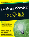 Business Plans Kit For Dummies, 4th Edition (1118756169) cover image