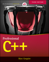 Professional C++, 3rd Edition (1118858069) cover image