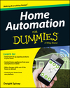 Home Automation For Dummies (1118949269) cover image