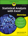 Statistical Analysis with Excel For Dummies, 4th Edition (1119271169) cover image
