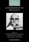 A Companion to Foucault (1444334069) cover image