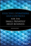 Effective Operations and Controls for the Small Privately Held Business (047022276X) cover image