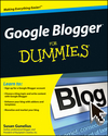 Google Blogger For Dummies (047046996X) cover image