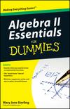 Algebra II Essentials For Dummies (047064916X) cover image