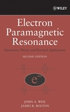 thumbnail image: Electron Paramagnetic Resonance: Elementary Theory and Practical Applications, 2nd Edition