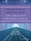 Research Methods in Health Promotion, 2nd Edition (111840906X) cover image