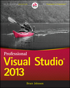 Professional Visual Studio 2013 (111883206X) cover image