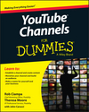 YouTube Channels For Dummies (111895906X) cover image