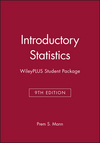 Introductory Statistics, 9e WileyPLUS Student Package (111914826X) cover image