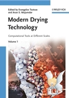 Modern Drying Technology, Volume 1: Computational Tools at Different Scales (352731556X) cover image