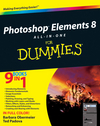 Photoshop Elements 8 All-in-One For Dummies (0470594470) cover image