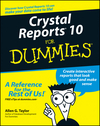 Crystal Reports 10 For Dummies (0764571370) cover image