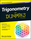 Trigonometry For Dummies, 2nd Edition (1118827570) cover image