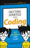 Getting Started with Coding: Get Creative with Code! (1119177170) cover image