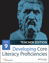 Developing Core Literacy Proficiencies, Grade 9, Teacher Edition (1119192870) cover image