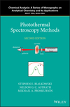 thumbnail image: Photothermal Spectroscopy Methods, 2nd Edition