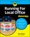 Running For Local Office For Dummies (1119588170) cover image