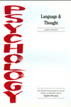 thumbnail image: Language and Thought