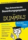 Top-Antworten im Bewerbungsgespräch für Dummies (3527642870) cover image